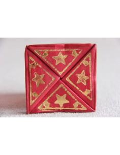 Porte-monnaie marocain rouge