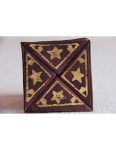 Moroccan change purse brown