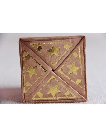 Moroccan change purse pink