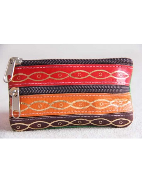 Change purse zip 5