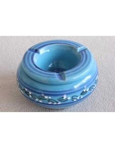 Cendrier marocain bleu moyen