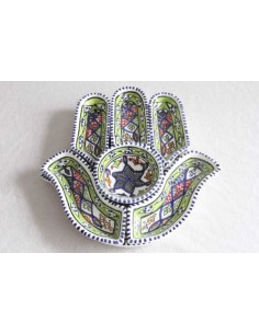 appetizer serving hand of Fatima large pattern 1