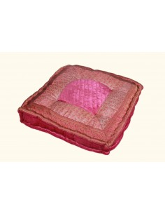 Coussin carré Rose GM