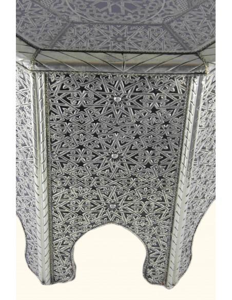 Table en cuivre argenté TM