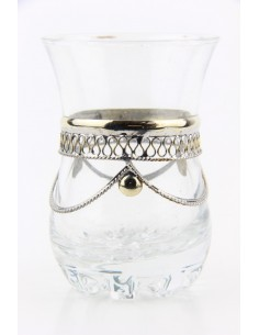 Moroccan tea glass pattern 1