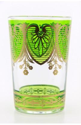 Tea glass pattern 6 pink