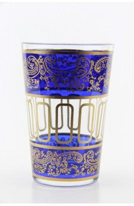 Tea glass pattern 8 green