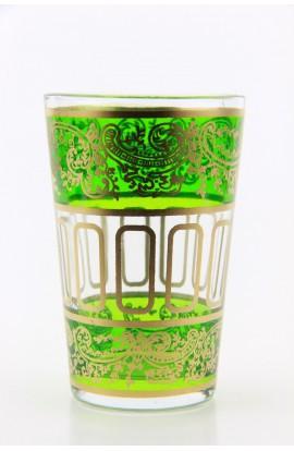 Tea glass pattern 9 red