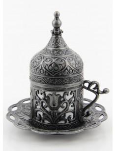 Verre à thé et café turque argent