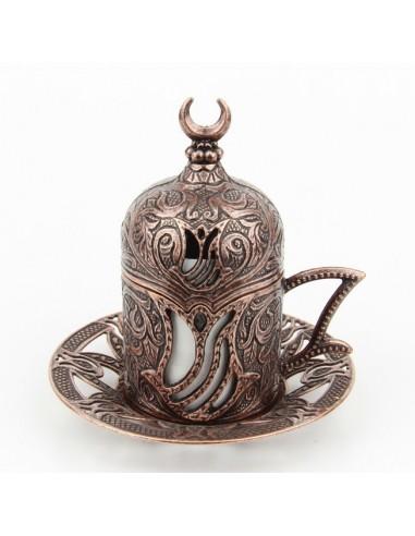 Verre à thé et café turque noir