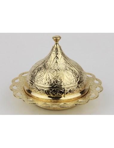 Sucrier turque bronze