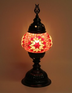Lampe de table rouge MB2