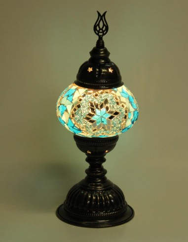 Table lamp turquoise MB2