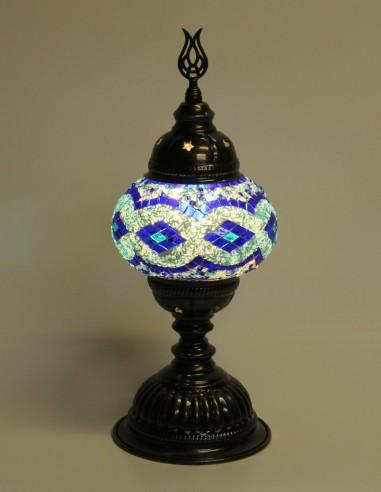 Lampe de table bleue MB2