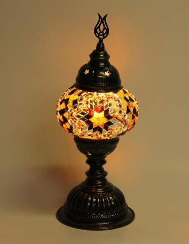 Lampe de table brune MB2