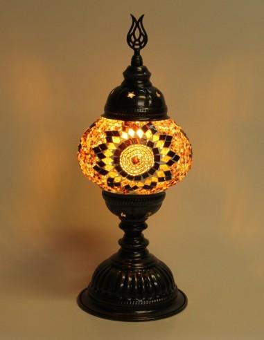 Lampe de table brune MB2
