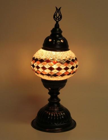 Lampe de table mauve MB2