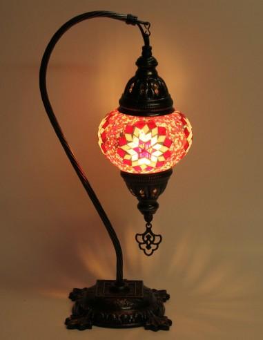 Lampe de table rouge DB2