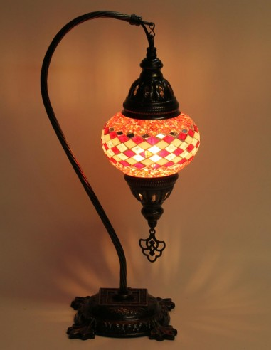 Table lamp red DB2