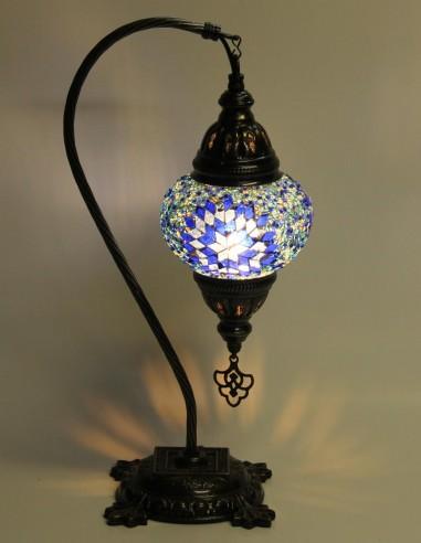 Lampe de table bleue DB2