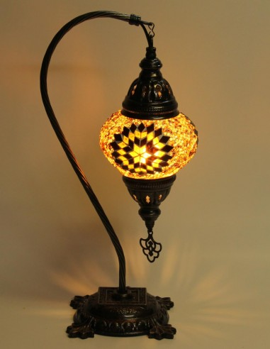 Table lamp brown DB2