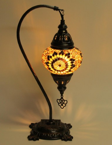 Lampe de table brune DB2