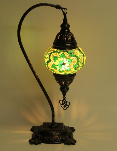 Lampe de table verte DB2