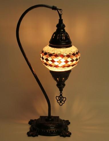 Table lamp purple DB2