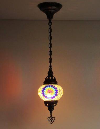 Lampe suspendue multicouleurs B2