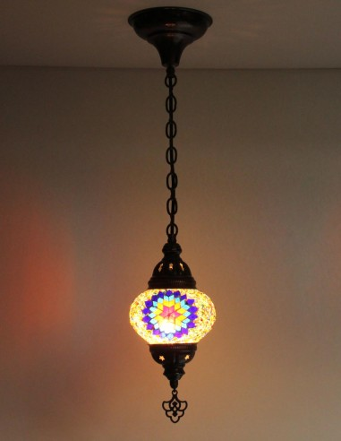 Hanging lamp multicolors B2