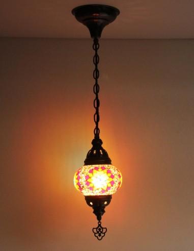 Hanging lamp multicolors B2