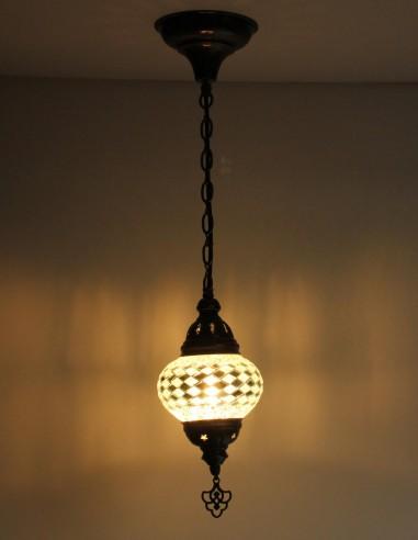Hanging lamp white B2