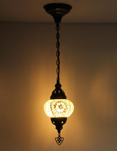 Hanging lamp white B2