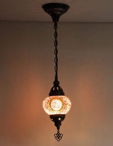 Hanging lamp purple B2