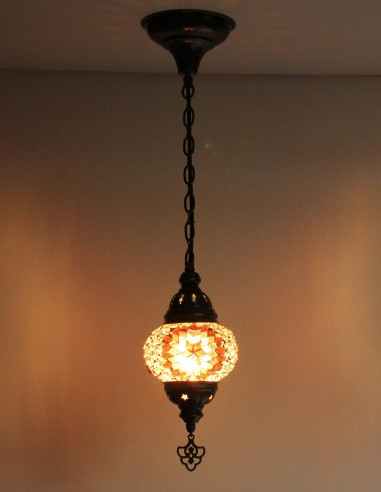 Hanging lamp purple B2