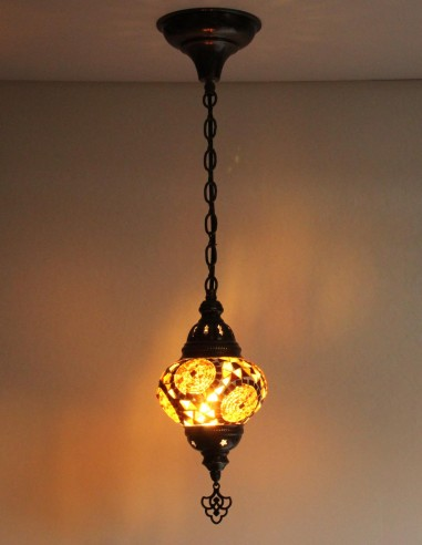 Hanging lamp brown B2