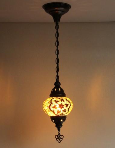 Hanging lamp brown B2