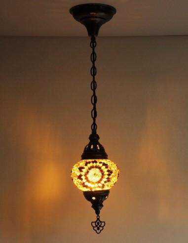 Lampe suspendue brune B2