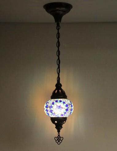 Lampe suspendue bleue B2