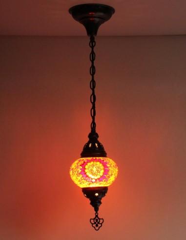 Hanging lamp red B2