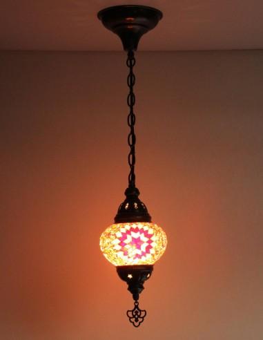 Lampe suspendue rouge B2