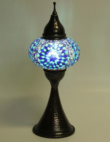 Table lamp blue DOV3