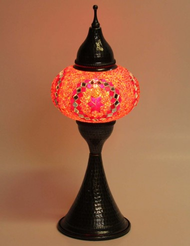 Lampe de table rouge DOV3