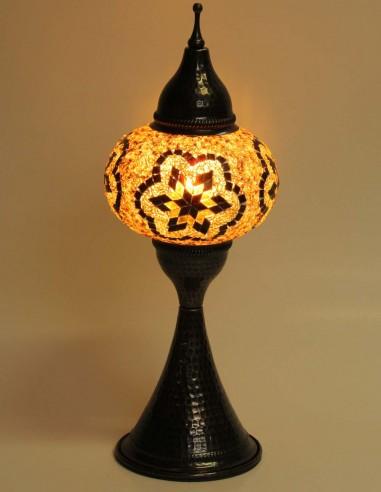 Lampe de table brune DOV3