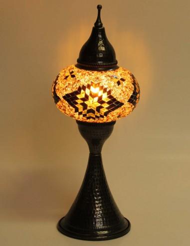 Table lamp brown DOV3