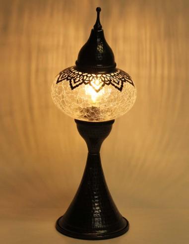 Table lamp blown glass DOV3