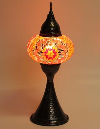 Lampe de table rouge DOV3