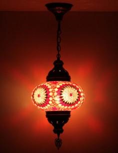 Lampe suspendue rouge B4