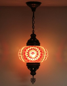 Hanging lamp red B4