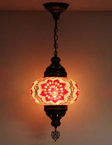 Hanging lamp red B4